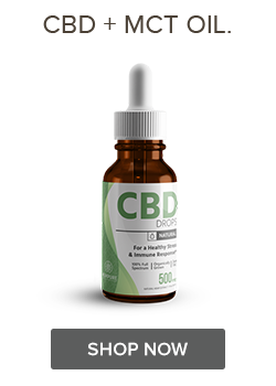 Shop CBD Oil Drops with MCT Oil