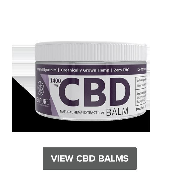 Shop CBD Balm zero THC