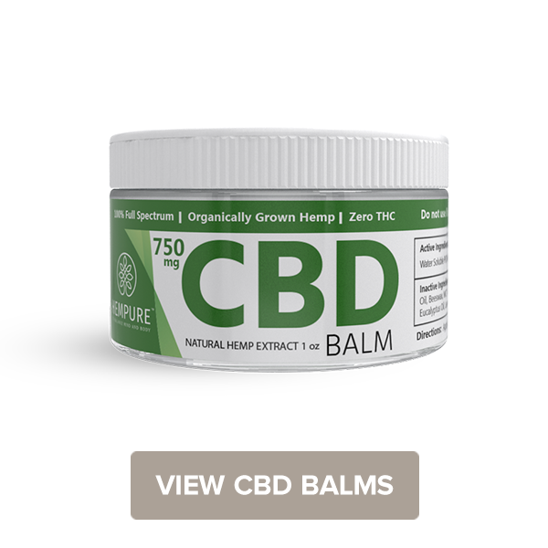 Shop CBD Balm for Topical Relief