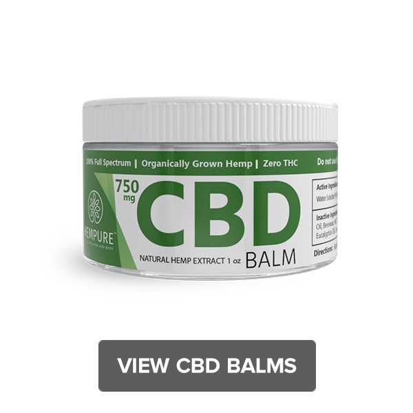 Shop Topical CBD Balm 750 mg