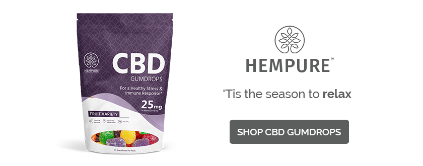 Best CBD Gumdrops Stocking Stuffer