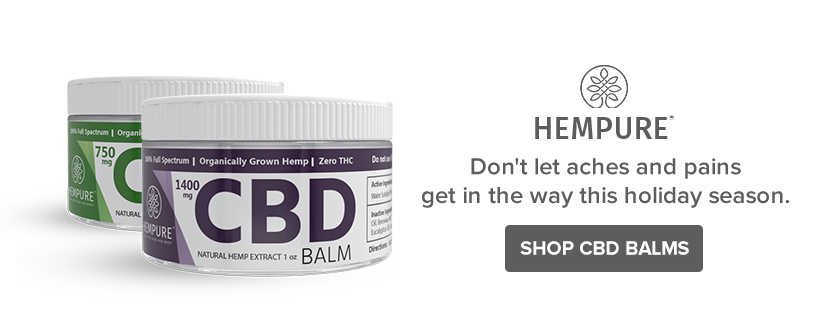 Best CBD Balm Stocking Stuffer