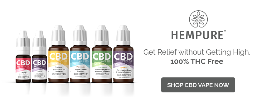 Shop 100% THC Free CBD Vape Oil