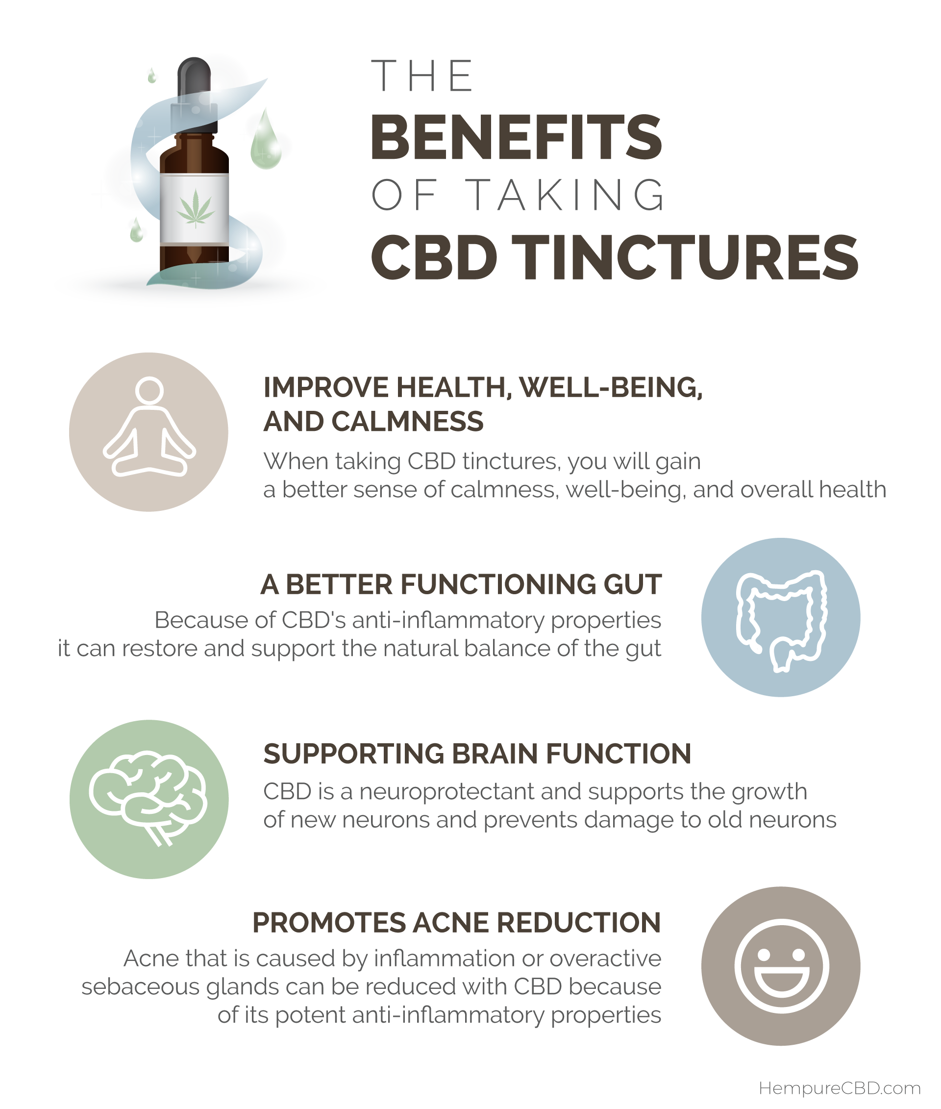 Benefits of Taking CBD Tinctures