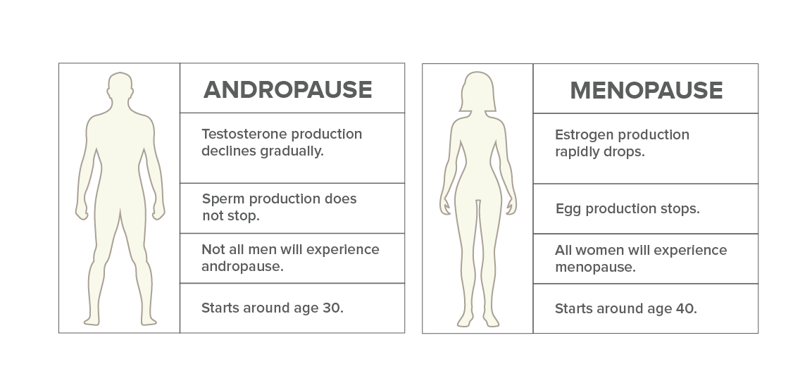 Andropause and Menopause